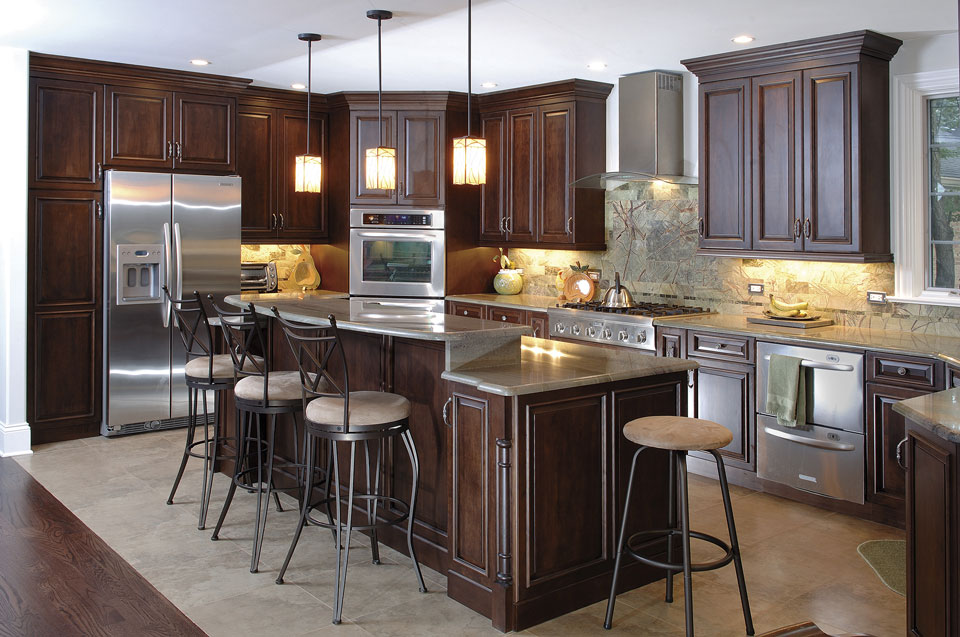 Custom-Kitchen-Cabinets-Clear-Alder-Wood